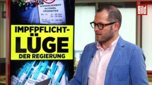 Julian Reichelt, BILD-Chef, äußert sich zum Vorfall beim Konzert von Nena