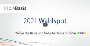 """Der Wahlwerbespot von """"dieBasis"""" mit mehr als 3 Millionen Zuschauern wird Quotensieger bei ARD und ZDF"""